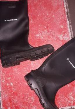 Botas de agua marca dunlop