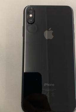 Iphone xs max space gray 64gb garantía.