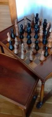 Juego ajedrez vintage