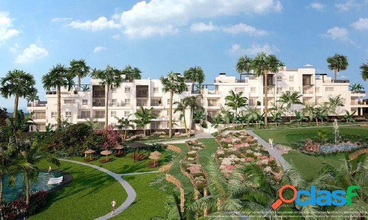 Apartamento ático 3 dormitorios y 2 baños, con solarium en residencial en la ceñuela (punta prima)