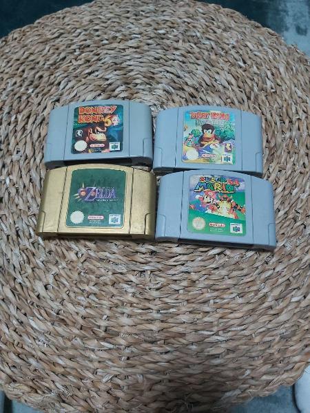 4 juegos nintendo 64