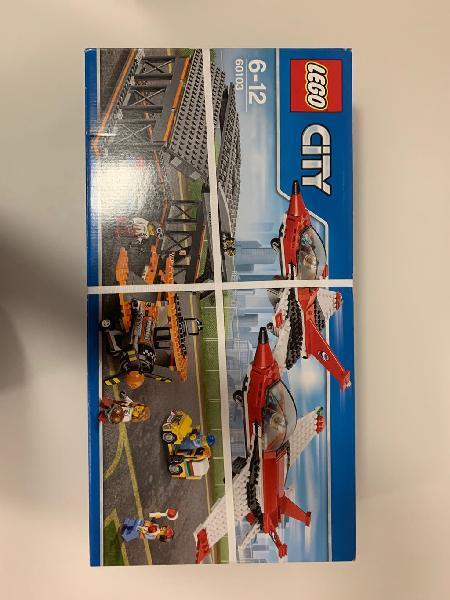 60103 lego city aeropuerto con hangar y aviones