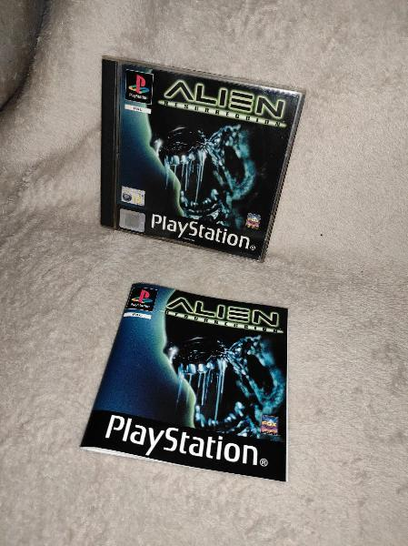 Alien resurrección psx ps1
