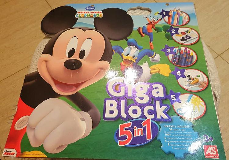 Block de dibujo mickey