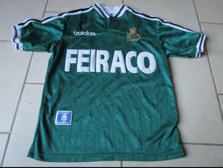 Camiseta fútbol deportivo coruña 158-164 cm