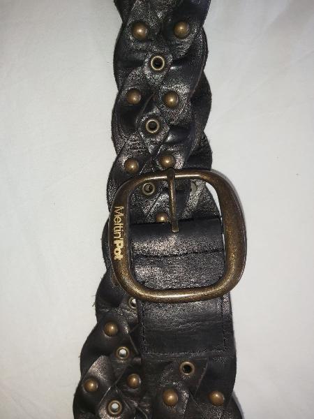 Cinturón piel meltin pot