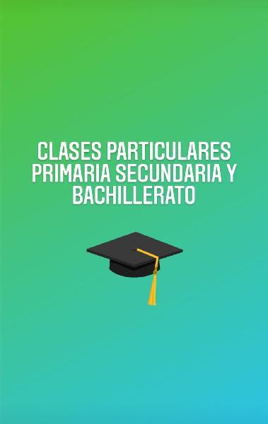 Clases particulares primaria secundaria y bach