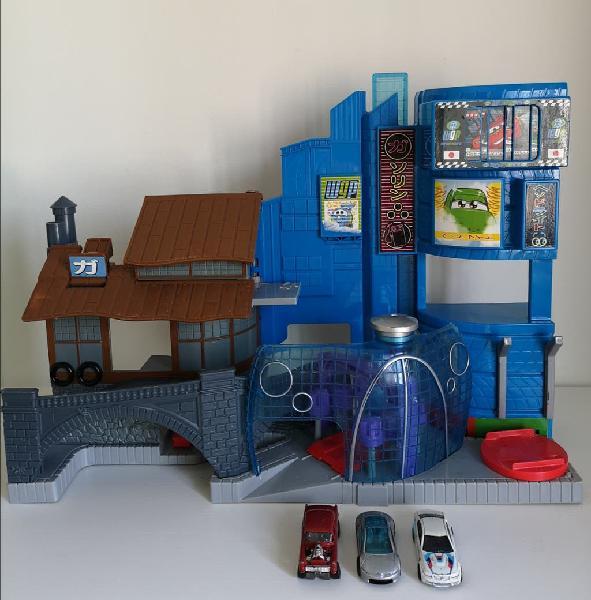Garage coches juguete niño