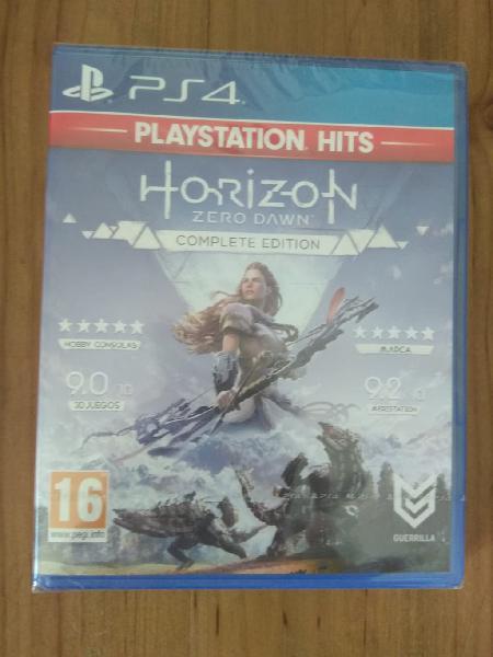 Horizon zero dawn complete edition ps4 pal españa