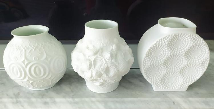 Jarrón porcelana kaiser, alemania años 60/70
