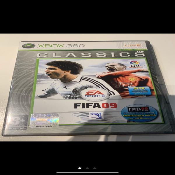 Juego xbox 360 ea sport fifa 2009 (como nuevo