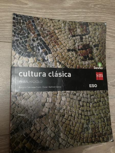 Libro 3 eso cultura clásica