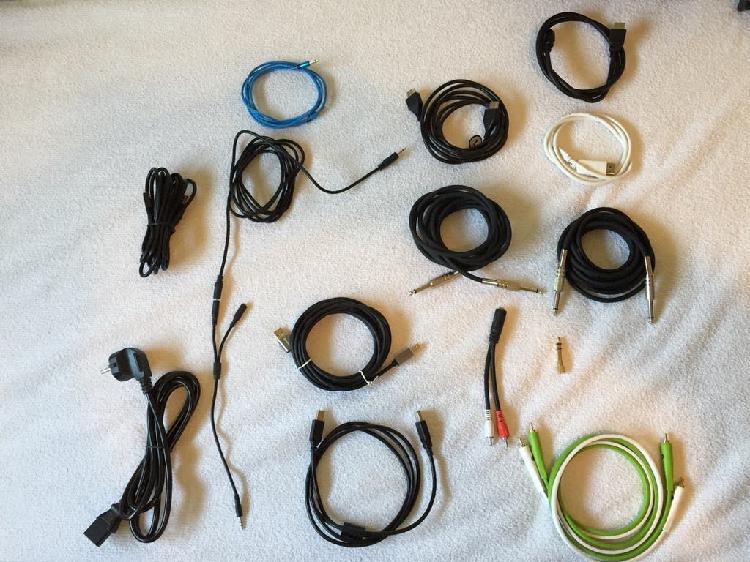 Lote cableado imagen y audio