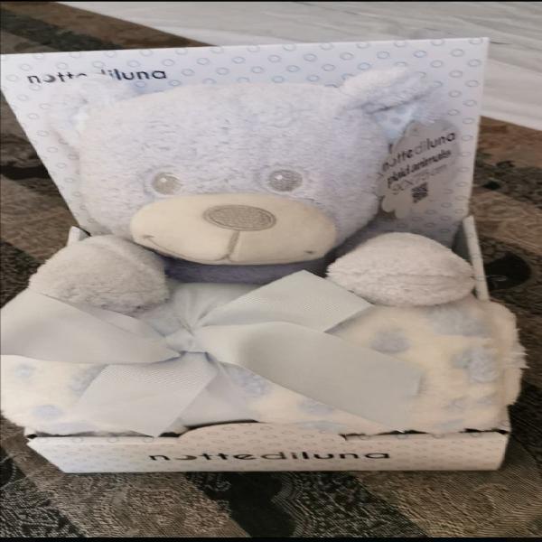 Manta más peluche oso para bebé producto nuevo y s