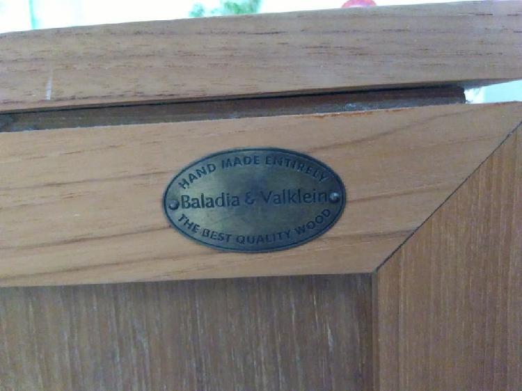 Mueble tv madera de teca