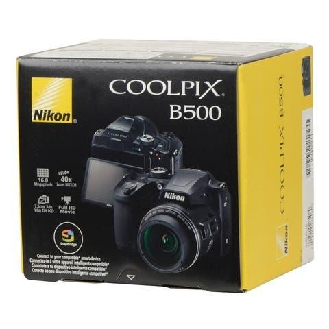 Nikon b500 coolpix - cámara bridge con zoom 40x