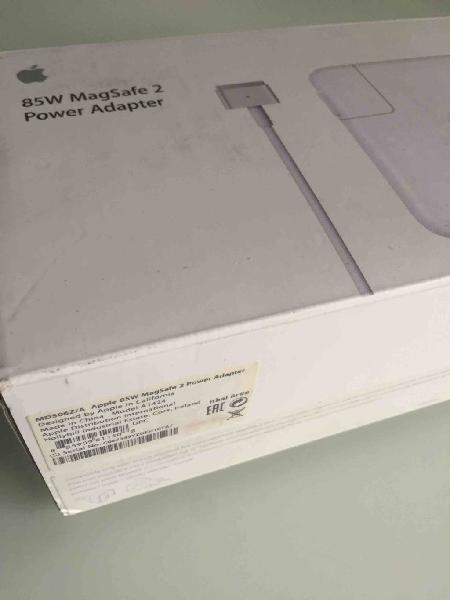 Nuevo cargador macbook pro retina / estreno