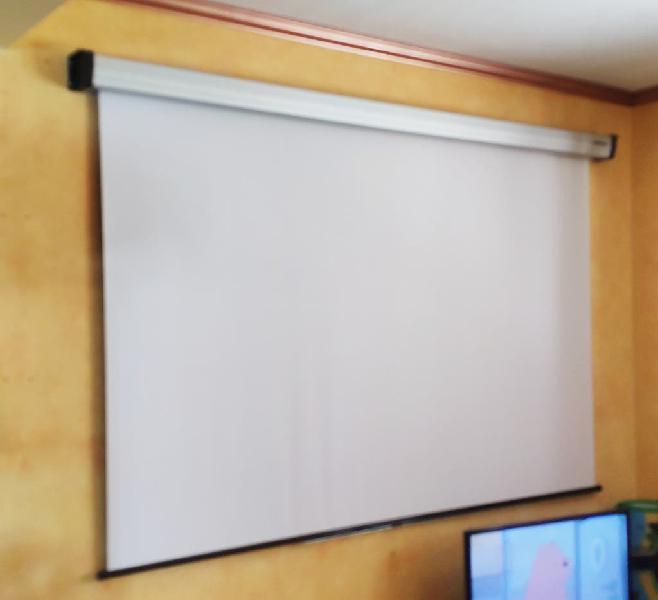 Pantalla proyector 2x2m reflecta