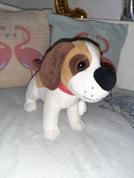 Peluche perro beagle 30 cm
