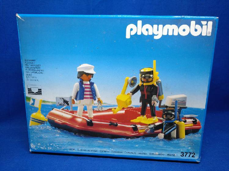 Playmobil la caja tiene desgastes importantes, ver