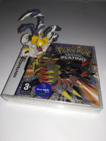 Pokemon edición platino ds precintado más regalo.