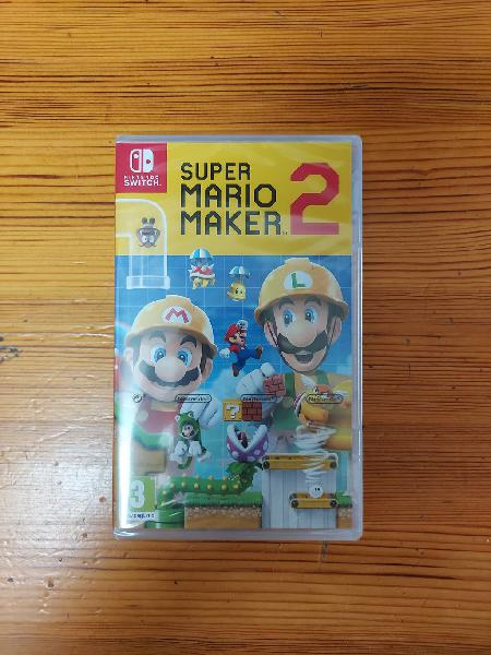 Super mario maker 2 nintendo switch ¡¡nuevo!!
