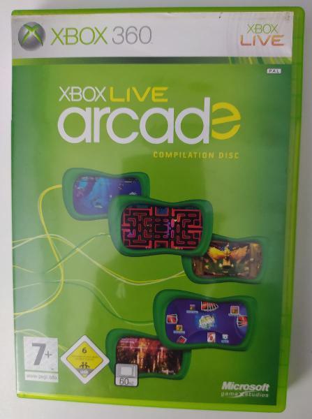 Xbox live arcade para xbox