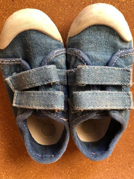 Zapatilla tejana chicco talla 24