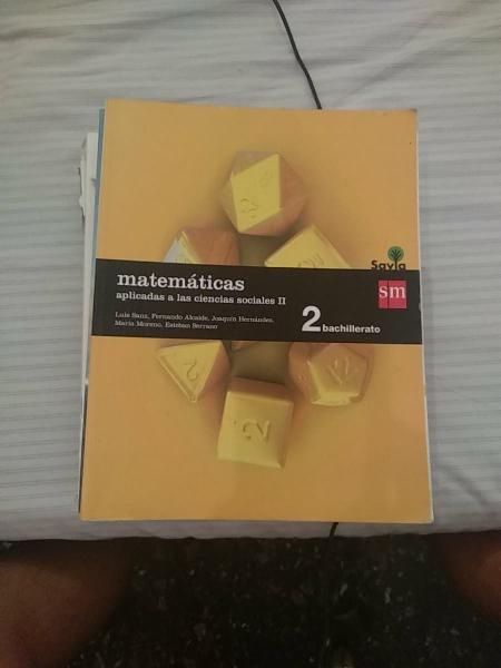 Matemáticas aplicadas a las ccss 2° bachillerato