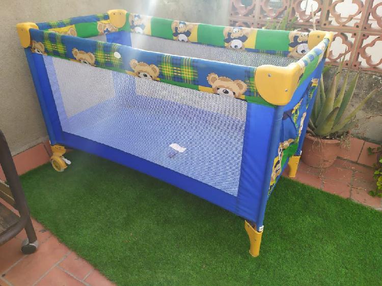 Parque infantil de red cuna plegable