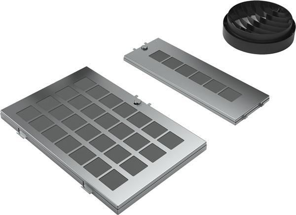 Bosch dwz0af0r0 - set de recirculación campanas de pared
