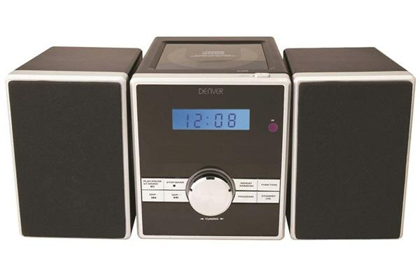 Denver mca230 - cadena de musica cd pll radio fm aux lcd mp3