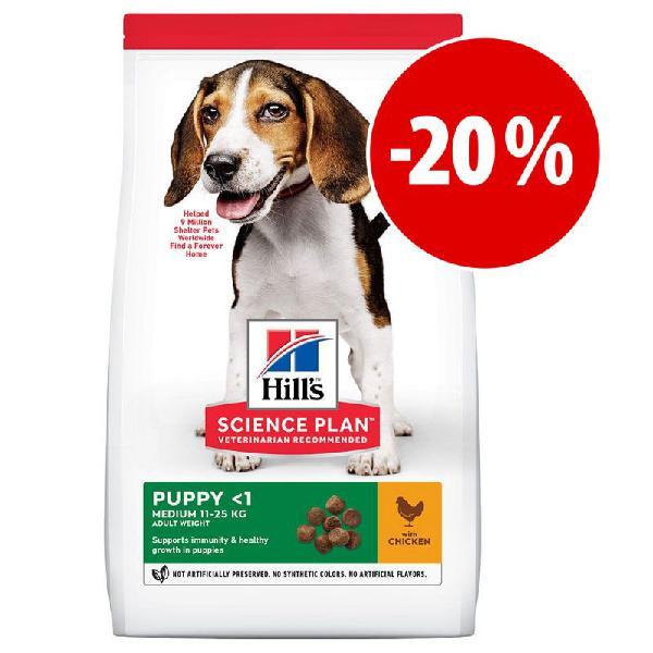 Hill's science plan 1,5 a 3 kg pienso para perros ¡a precio