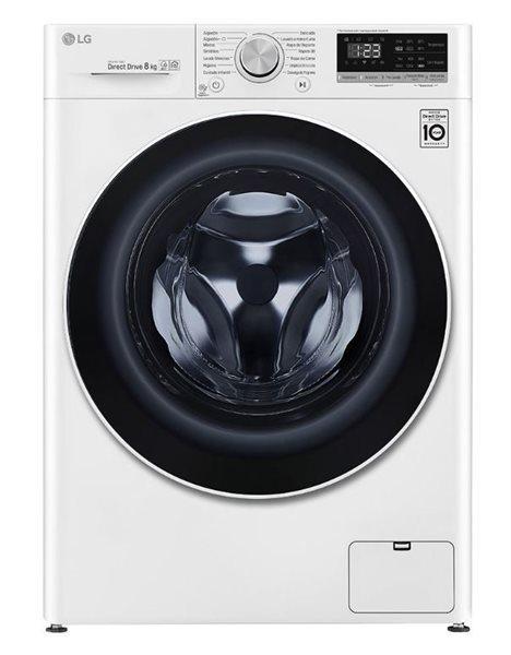 Lg f4wn408n0 - lavadora 8kg 1400rpm ia wifi 14 programas