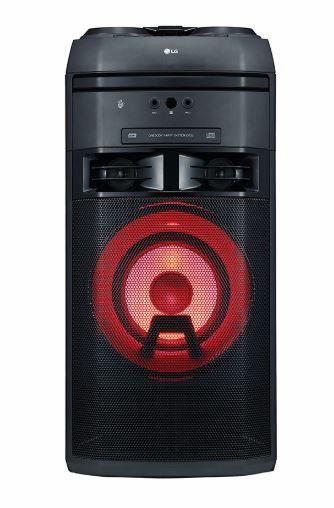 Lg ok55 - equipo de sonido bluetooth cd dual usb 500w