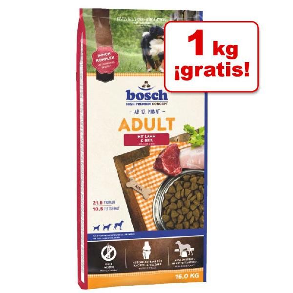 Pienso bosch para perros 15 kg en oferta: 14 + 1 kg