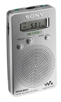 Radio bolsillo sony srfm807