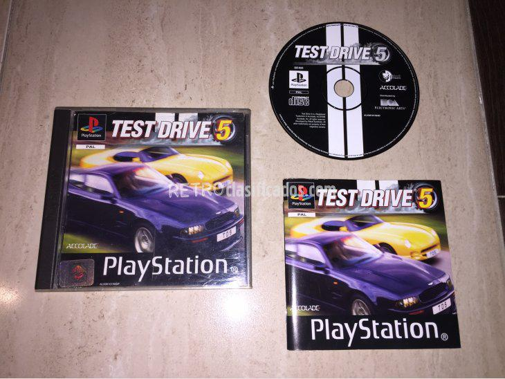 Se vende test drive 5 play station psx