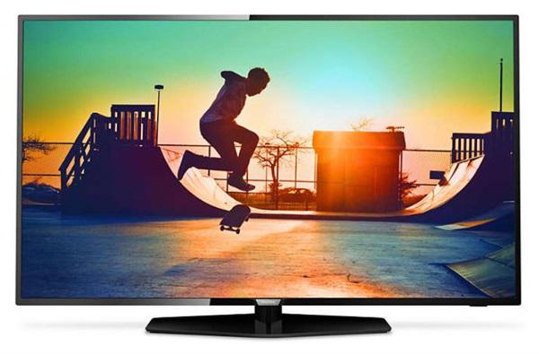 Televisión philips 50pus6162 led 4k ultra hd 126 cm (50