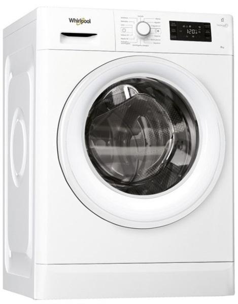 Whirlpool fwg81284wsp - lavadora carga frontal 8 kg 1200 rpm