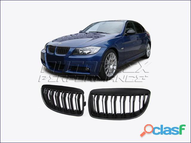 Rejillas Delante Negro BMW E90 + E91