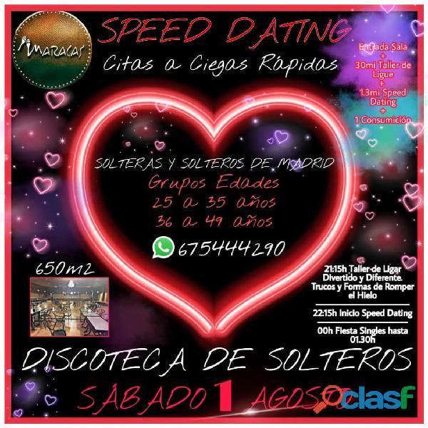 SPEED DATING   ROMPE EL HIELO (MARACAS)