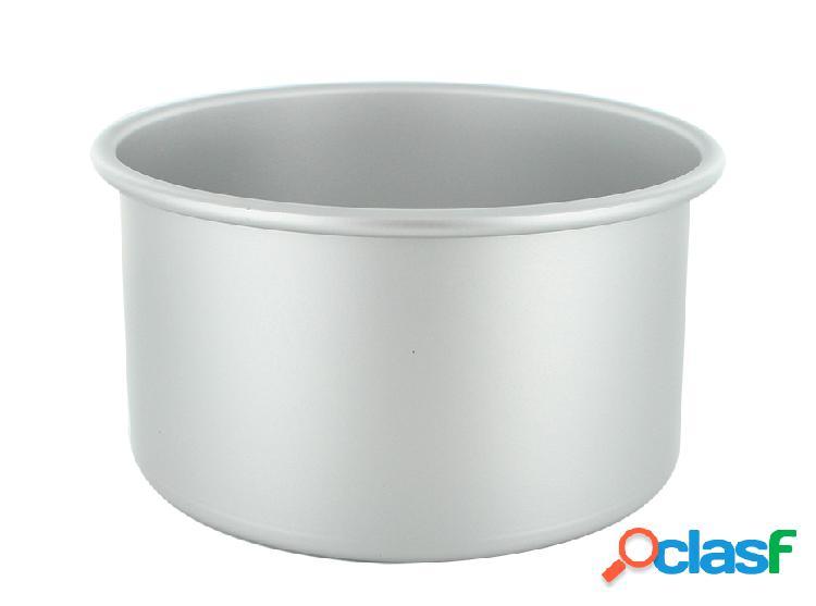 Molde redondo aluminio antiadherente cerf dellier (ø18 x 10 cm)