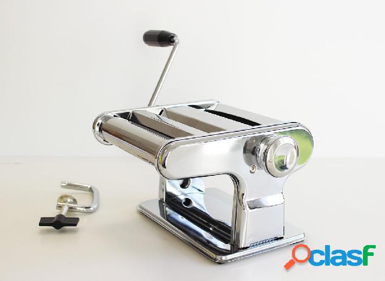 Máquina para hacer pasta fresca con agarre fijador a la mesa
