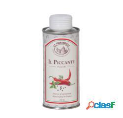 """Aceite """"il picccante"""" para pizza la tourangelle (250 ml)"""