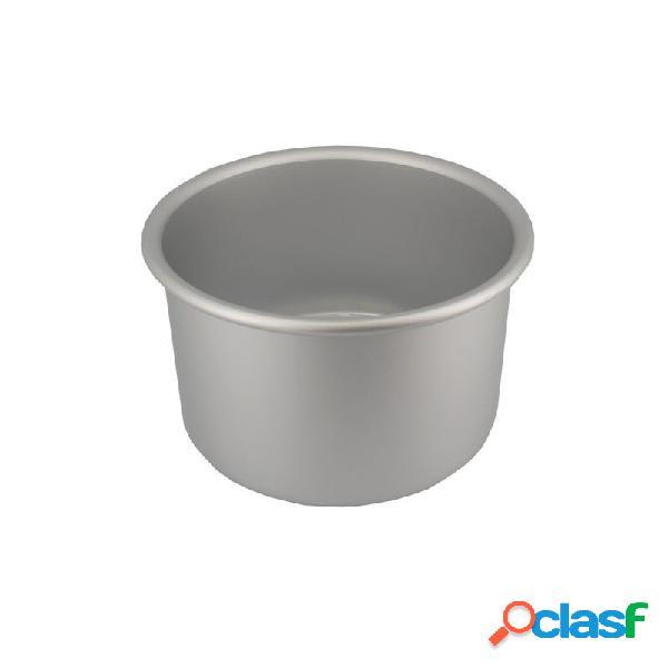 Molde redondo de aluminio alto para tartas (ø15 cm x 10 cm)