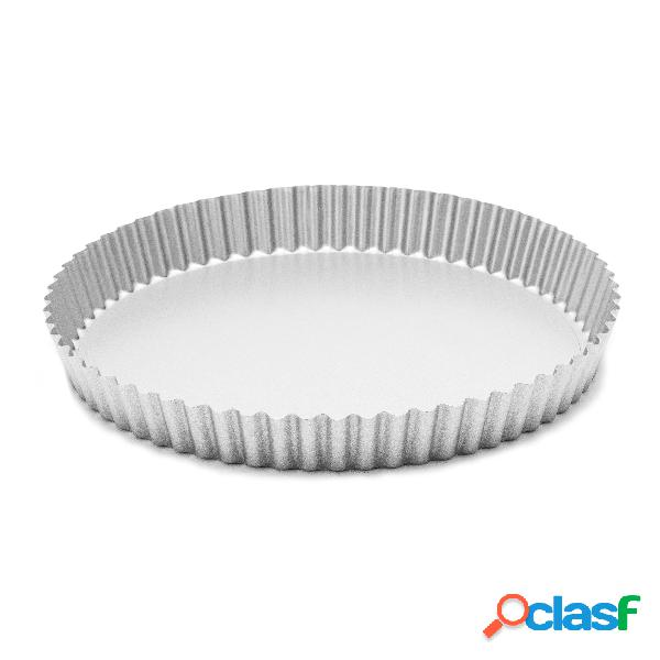 Molde desmontable rizado de metal antiadherente maom (ø30 x 4 cm)