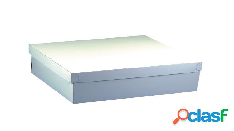 Set de 10 cajas de cartón blanco papstar (59 x 30 x 13 cm)