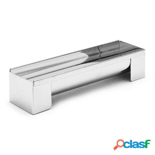 Molde desmontable inox para barzo gitano de buyer (30 x 8 x 6 cm)