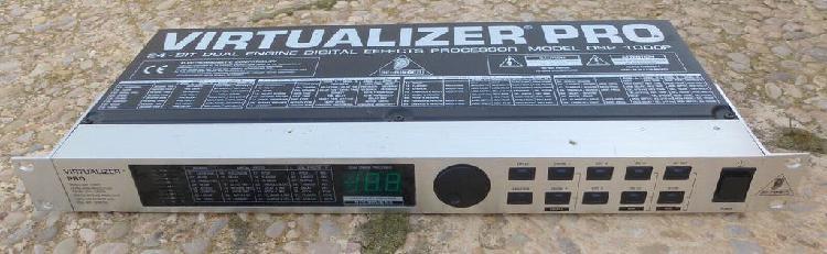 Behringer virtualizer pro dsp 1000p. multiefectos